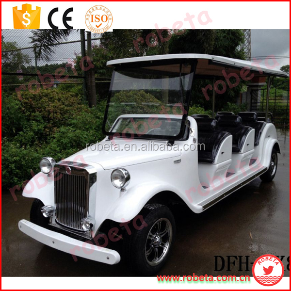 Eletric Wedding car design Classic Car/6 seater 4 wheel drive electirc golf cart //Whatsapp: 0086-15803993420