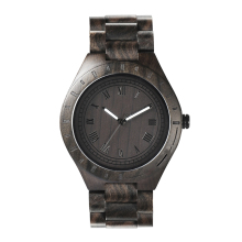 Vogue Black Wood Watch Private Label For Mens Wooden Watches