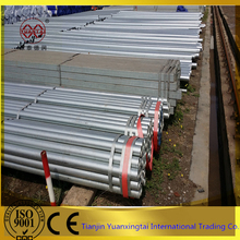 attractive price galvanized round erw mild steel pipe sizes steel pipes weight for export