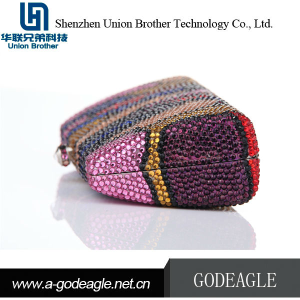High Quality Cheap china supplier crystal bag crystal clutch bag