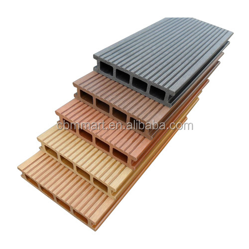 walkway outdoor wood plastic composite decking with high quality
