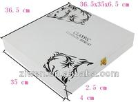 Deluxe wooden wedding photo album box for 12x12 inch album