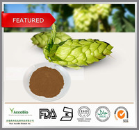 100% Natural Beer Hops Extract/Hops Flower P.E./Hops flower Extract powder