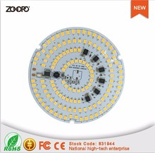 60w driverless high power pcb led panel