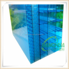uv coated crystal polycarbonate pc hollow sheet,pc panel