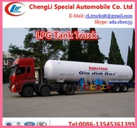 100000 l Q345R lpg tanker truck,lpg tanks shipping by roro boat,lpg transport truck tanks