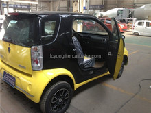 4 wheel 2 seat small cheap right hand drive electric car for sale