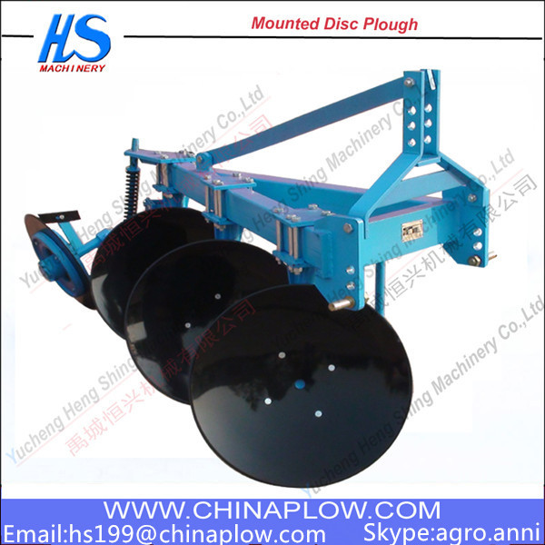 Durable to use farm equipment One way disc plough Functions of the disc plough