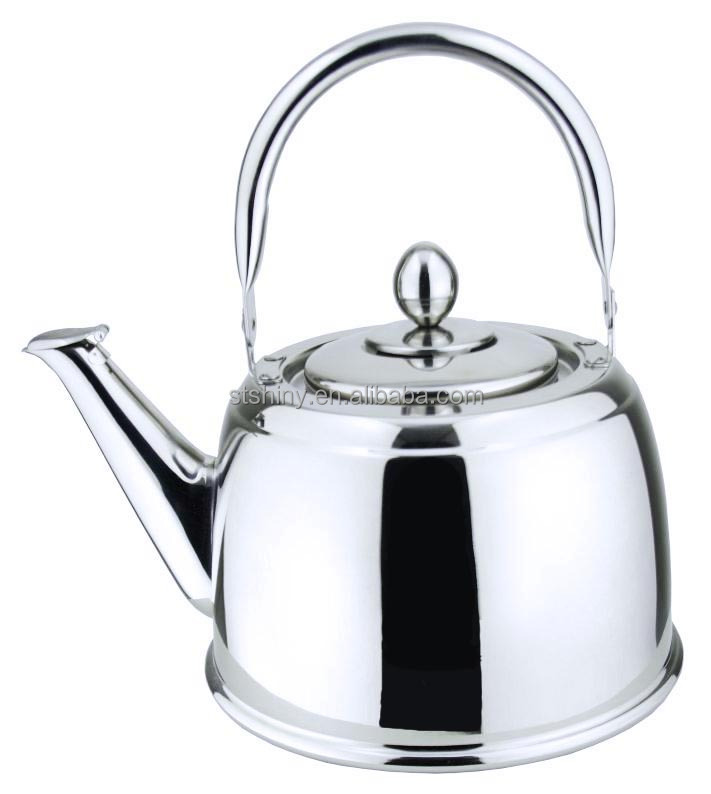 [SHINY] A104S Stainless kettle with steel handle for family
