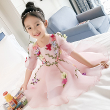 Japanese Girl Tube Wholesale Flower Kids Girl Tutu Dresses For Children