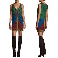European Fashion ladies wholesale summer new picture fashion short dresses for 80s