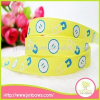 Holiday decoration hot sale simple pattern grosgrain ribbon 3 inch