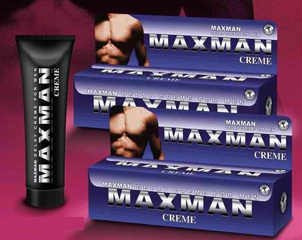 60ml Maxman Male Sex Enhancement Lubricant Cream