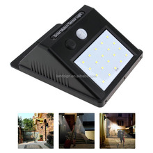 20 LED Solar Power Motion Sensor Wall Light Outdoor Waterproof Garden Lamp
