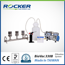 Rocker Scientific 47 mm/50 mm BioVac 330B Microbiology Vacuum Filter Equipment Laboratory Vacuum Filtration System