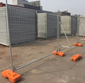 2100*2400 mm Hot-dipped galvanized Australia temporary fence