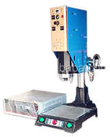 small vertical ultrasonic welding machine