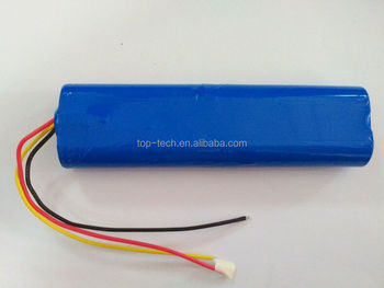 11.1V 4400mAh battery pack li-ion reachargeable battery pack