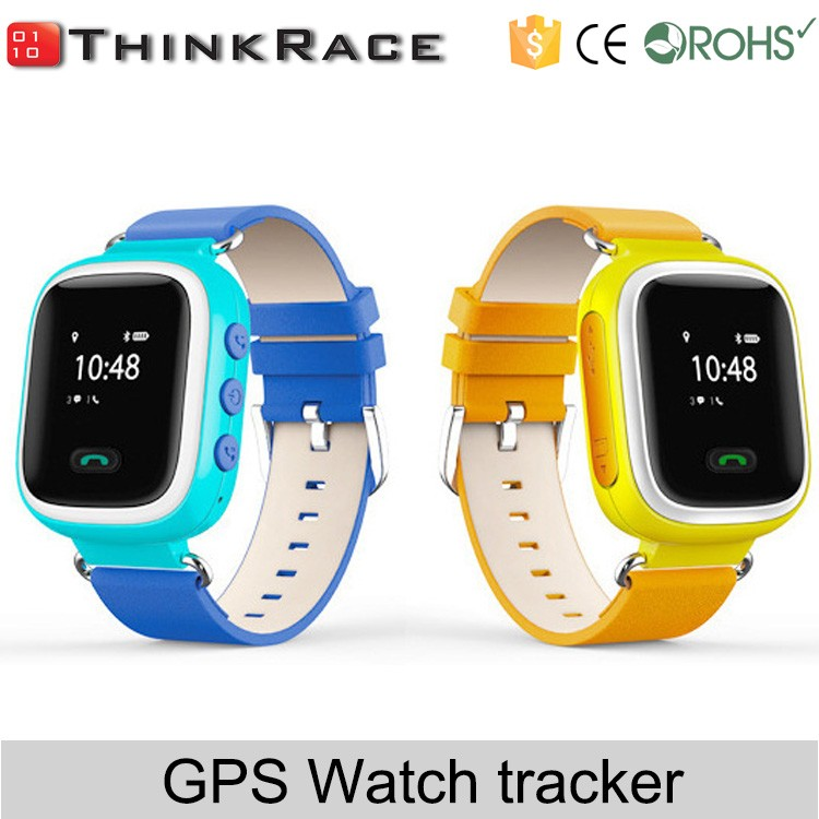 Best watch phone gps with voice monitor and anti lost Thinkrace PT80 made in China