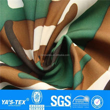3 layer waterproof breathable keep warm printing polyester fabric with tpu membrance