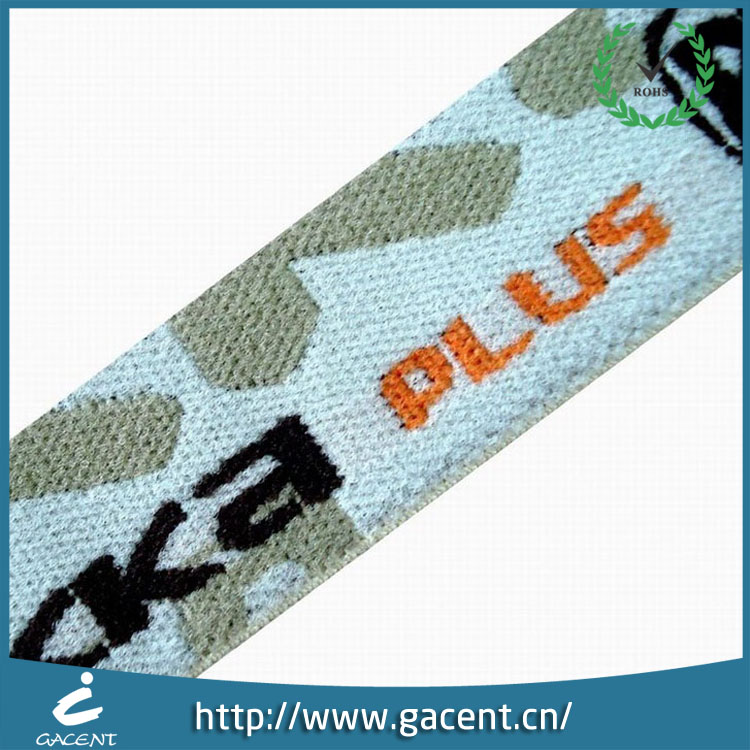 Manufacture jacquard knitted elastic webbing for weaving clothing