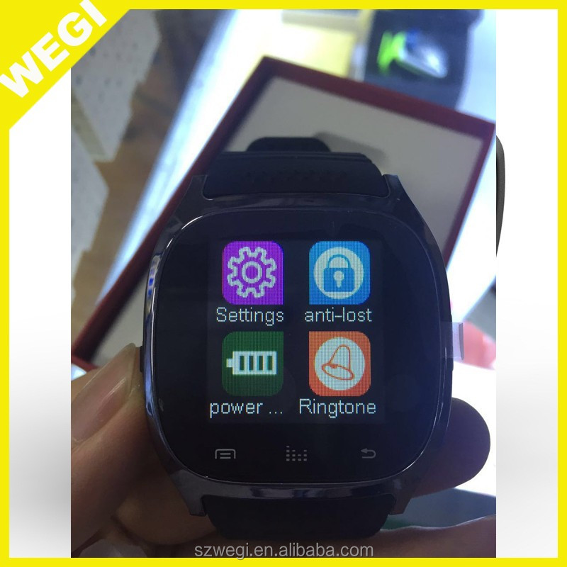 2017 hot Y1 smart watch touch screen outdoor mobile phone watch for iphone android