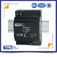 TPS building application din rail power supply 60W 12v 5a power supply