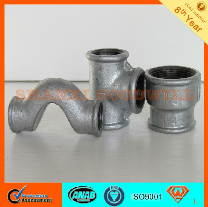 Hardware Gal. Malleable Pipe Fittings-SHANXI GOODWILL