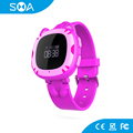 3 SOS Phone No. OLED Screen MTK Platform 64*48 Smart GPS Watch Kids