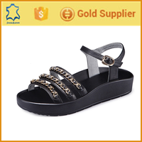 The latest design genius leather lady sandals,ladies women shoes