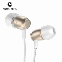 2017 hot sale colorful design earphones & headphones, metal earphone with high quality and competitive price