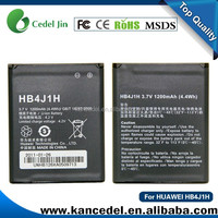 Original battery for huawei HB4J1 HB4J1H U8150/IDEOS/C8500/V845/IDEOS X3/C8500S/U8180