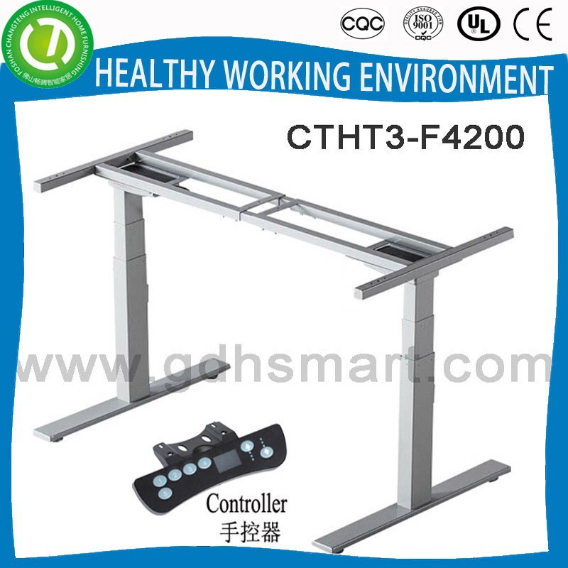 electric lift mechanism sit/standing office desk frame for sale