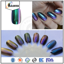 Color shifting pigments for nail polish nail chameleon flakes pigment powder factory