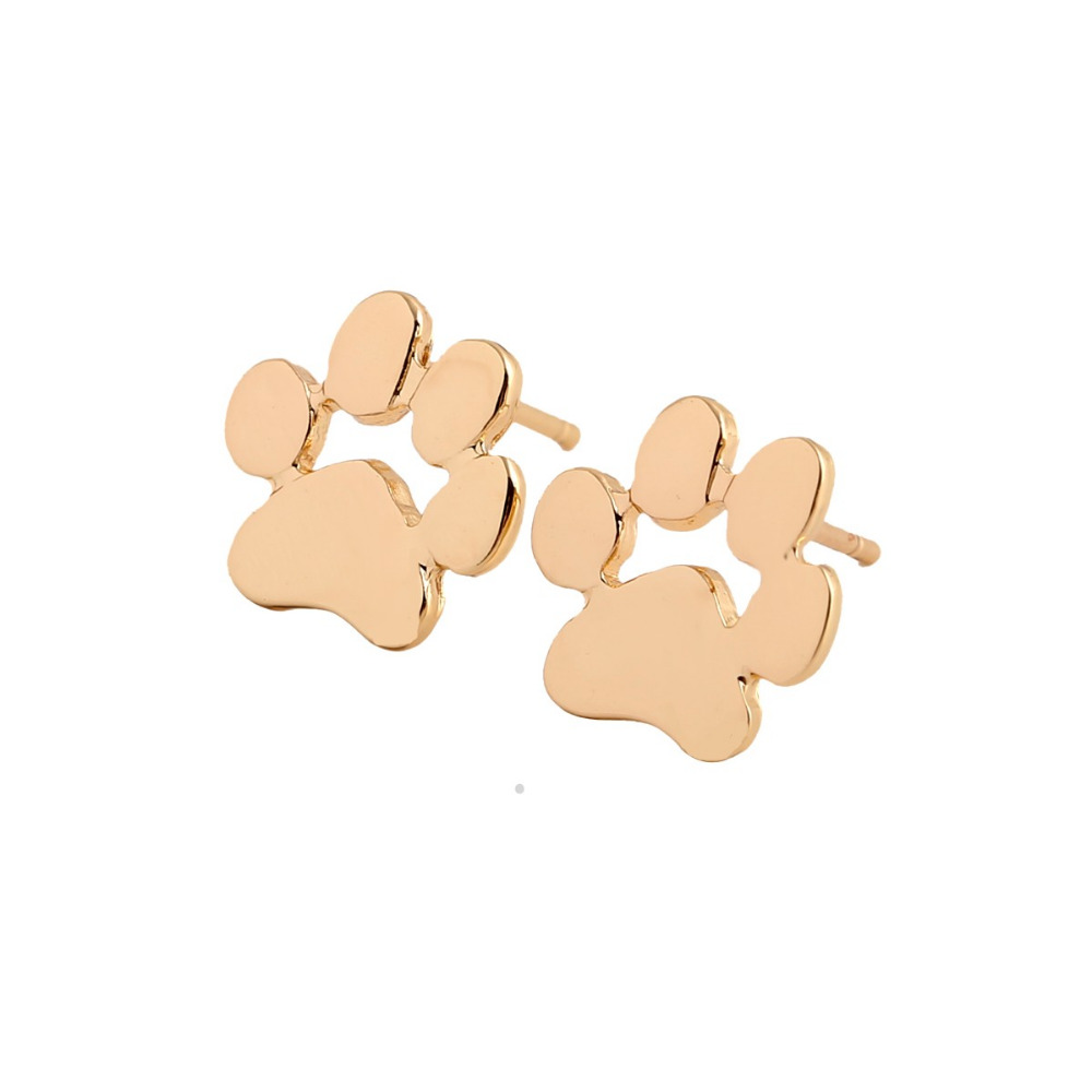 Classic Small <strong>Earrings</strong> for Women Cute Paw Print Stud <strong>Earrings</strong> Female Animal Jewelry