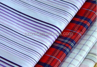 100% cotton yarn-dyed poplin fabric