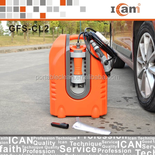 75W 12V portable Car Washer With High Pressure, multi-function Car Washing Machine