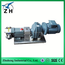 stainless steel rotary lobe pump marzocchi hydraulic gear pump 12v gear pump from professional manufacturer