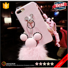 Hot selling products Cartoon Beautiful mobile phone diamond cover covers case for iPhone 7