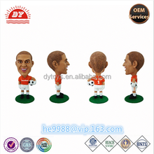 custom small plastic football player figurine toys