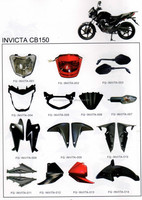Motorcycle body parts for INVICTA CB150