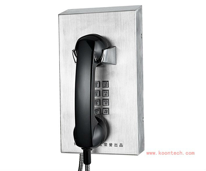 KNZD-10 Paging system telephone voip payphone with high quality