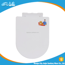 square PP material toilet seat lid soft closing