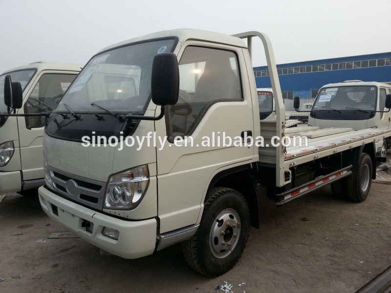 small cargo truk strong capacity foton van/box body truck 4x2
