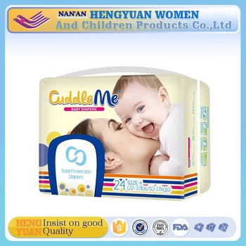 OEM welcomed disposable baby diaper manufacture in china