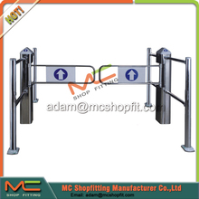 Access Control Entrance And Exit Gate/ control extrance swing gate