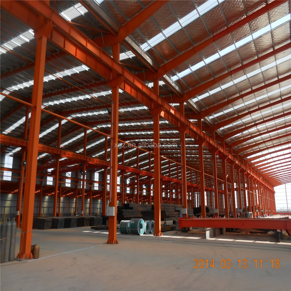 industrial hangar steel portal frame design steel building structures