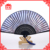 Chinese Personalized Bamboo silk hand fan blue rib GYS802-2
