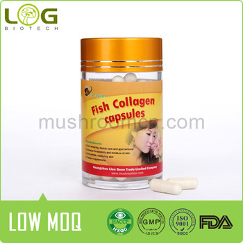 Chinese Marine Fish Pure Collagen Capsule