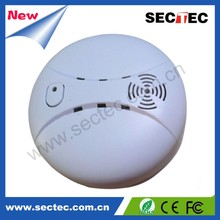 SECTEC Fire Conventional wired smoke sensor Alarm Detector camera/metal detector camera